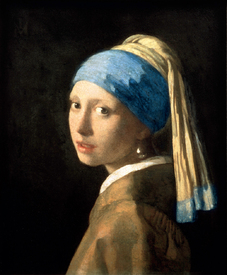 Mädchen mit Perlenohrring